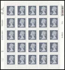 GB Machin Definitive Slate Grey 50p sheet (25 stamps) MNH 2020