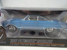 1:18 Highway 61 #50501 - 1967 Plymouth Satellite blue / blackvinyl - RARITÄT