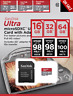 Sandisk Micro SD Card Ultra Memory Card 16GB 32GB 64GB 128GB 256GB Wholesale lot