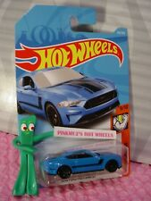 2018 FORD MUSTANG GT #216✰Blue;black ✰MUSCLE MANIA✰2018 i Hot Wheels WW CASE J/K