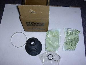 AMC EAGLE PREMIER & DODGE MONACO INNER AXLE SHAFT BOOT KIT #83504577 NOS MOPAR