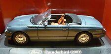 Ford  Thunderbird * 2003 * grau blau * Yat Ming  1:43  _