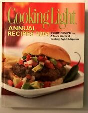 Cookbook 158 Cooking Light Magazine 2004 Crepes Stock Sorbet Pie Soup Bread Fit