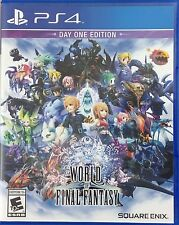 World of Final Fantasy: Day One Edition (Sony PlayStation 4, 2016) (2737-SM14)