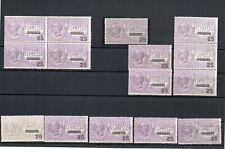 1917 ITALY ESPRESSO MNH STAMPS LOT, BLOCK, STRIP, CV $2225.00, RARITY