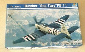 "Trumpeter 1/72 Hawker ""Sea Fury"" FB.11"