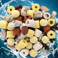 Pack Aquarium Material Ceramic Ring Filter Media Stone Fish Tank Supply Tool New