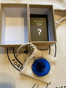 Foreverspin Top - Foreverspin Mystery Top - Spinning Top - Atlantic Blue