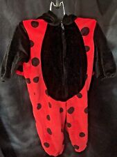 Lady Bug 12 Month Halloween Costume Warm Cute Trick Or Treat Children's Holidays