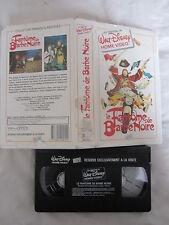 Le Fantome De Barbe Noire de Robert Stevenson, VHS Walt Disney, Aventure, RARE!!