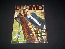 2007 FEBRUARY VOGUE L'UOMO MAGAZINE - TUKI BRANDO - FASHION COVER - F 3092