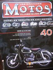 FASCICULE 40 MOTOS CLASSIQUES DKW RT 175VS 1956 MOTORCYCLE MOTORRAD