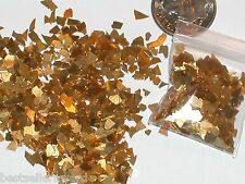 1 bag magical Real Gold Plated Diamond Dust for glass bottle vials stone sparkly