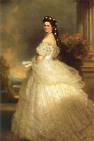 "Dream-art Oil painting Empress Elizabeth of Austria also as ""Sissy Princess"" 36"""