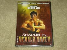 Shaolin Vs The Devils Omen Donnie Yen Martial Arts, Karate Satan Returns NEW dvd