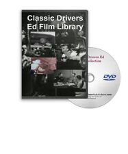 Vintage Auto Accident Drivers Ed  Shock Scare Films Signal 30 DVD - A19