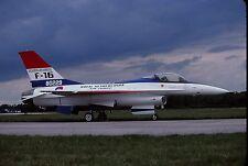 Original colour slide F-16A Fighting Falcon spcl. J-229/80229 of KLu