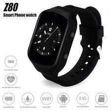 Z80 Smartwatch Phone 3G SIM Wifi Android GPS Waterproof Heart Rate Smart Watch