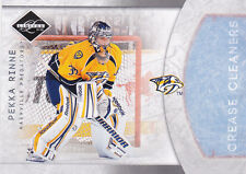 11-12 Limited Pekka Rinne /49 Crease Cleaners Silver 2011 Panini