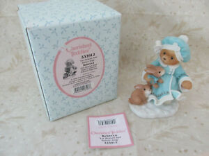 Cherished Teddies - Rebecca with Bunny - Limited Edition 1999 - #533912