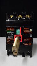 FUJI ELECTRIC EARTH LEAKAGE CIRCUIT BREAKER EG53B 5A 30mA