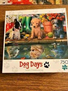 """Puppy Dreams"" Dog Days - 750 Piece Jigsaw Puzzle 24"" X 18"" by Buffalo Games"