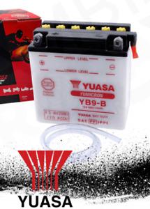 BATTERIA YUASA YB9-B 12v 9Ah PIAGGIO LIBERTY RST 4T 50-125 2007 2008