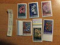 Rumänien Romania 6 Werte Nr.3224-29 von 1974 Postfrisch ! guter zustand!