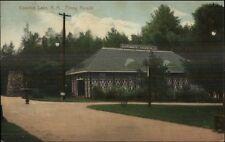 Canobie Lake NH Penny Arcade Automatic Vaudeville c1910 Postcard