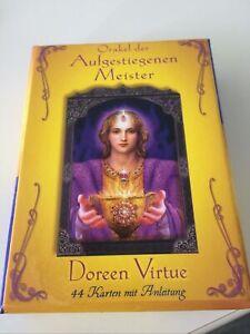 Orakel der Aufgestiegenen Meister - 44 Karten mit Anleitung von Virtue, Doreen