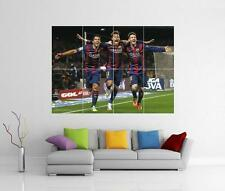 MESSI NEYMAR AND SUAREZ BARCELONA BARCA FC GIANT WALL ART PHOTO PRINT POSTER