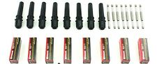 SET OF 8 IGNITION COIL BOOTS WITH SPRING FOR 508+ 8 MOTORCRAFT SPARK PLUG SP479