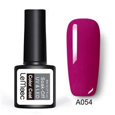 186 Colors Gel Polish Long Lasting UV Gel Manicure Salon Red Pink Black Polish
