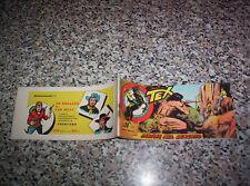 TEX STRISCIA SERIE MEFISTO N.2 ORIGINALE 1958 AUDACE OTTIMA TIPO ZAGOR RANGER