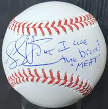 "Luke Voit ""I Love Bronx"" MEAT PSA/DNA New York Yankees Authentic Signed Baseball"