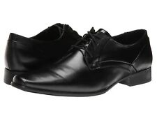 Men's Calvin Klein Benton Shoes Black Smooth Size 11