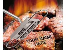 Outdoor Portable BBQ Changeable Letters Meat Steak Barbecue Branding Iron Tool J