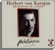 Herbert von Karajan - The Beginning of a Legend: New Classical Music, 3 CD Set!