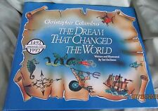 "Vintage1992 Book CHRISTOPHER COLUMBUS ""The Dream Changed The World"" Ted DeZinno"
