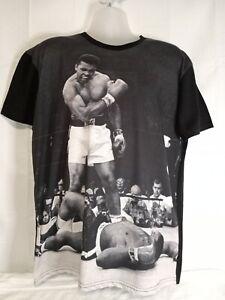 Muhammad Ali Vs Sonny Liston Ali Stands Over Fallen Challenger In 1965  XL