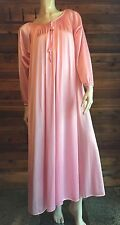 VINTAGE KOMAR PINK ONE SIZE SWEEP NIGHTGOWN