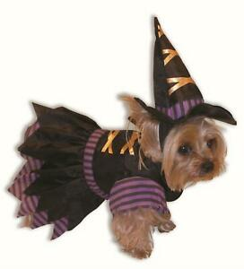 Wicked Witch Puppy Dog Cute Pet Costume Size Small