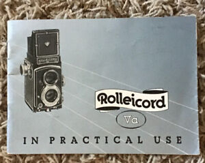 Rolleicord Va Instruction Book Manual