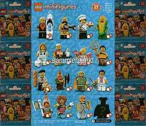 1 LEGO® MINIFIGUR -im DVB oder OVP- Ihrer Wahl aus der Serie 17 - LEGO #71018