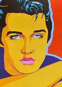 ElVIS PRESLEY art print, fashion, pop art, pop music, rock n roll, 50s, music, k