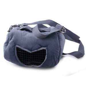 Hot Portable Small Animal Carrier Warm Bag Pet Hamster Guinea Pig Pouch Bed