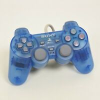 PS1 JUNK Analog Controller Island Blue SCPH-110 PSone Playstation 0602