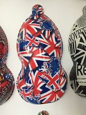 hydrographic film UK British Flag (High quality film as used by us @ Dip Demons)