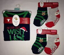 Carter's Boys Christmas Set 3 Months Bodysuit & 4 Socks On Every Lady's Wishlist