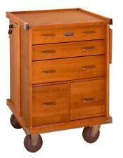Gerstner International Gi R20 5 Drawer Oak Amp Veneer Roller Cabinet Tools Hobby